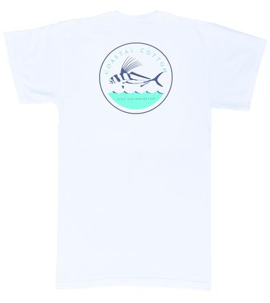Coastal Cotton Short Sleeve Rooster Fish                                                                                 T-shirt