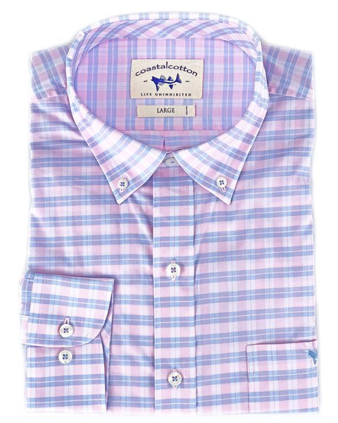 Coastal Cotton Cool Stretch Sport Shirt