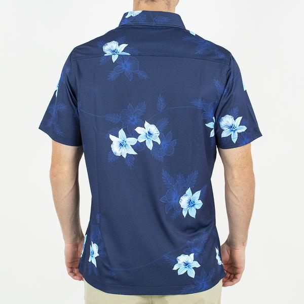 Toes on the Nose Navy Floral Shirt