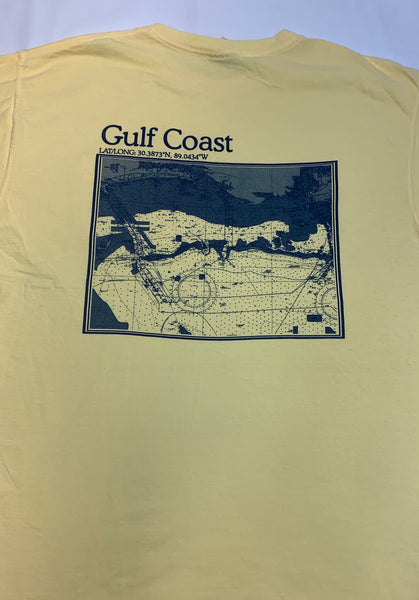 S.F. Alman MS Gulf Coast Map Tee