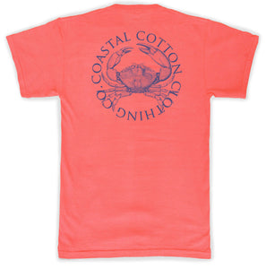Coastal Cotton Men's Crab T-shirt