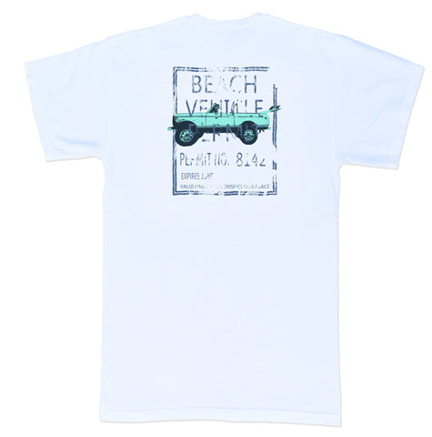 Coastal Cotton Men's Beach Permit T-shirt