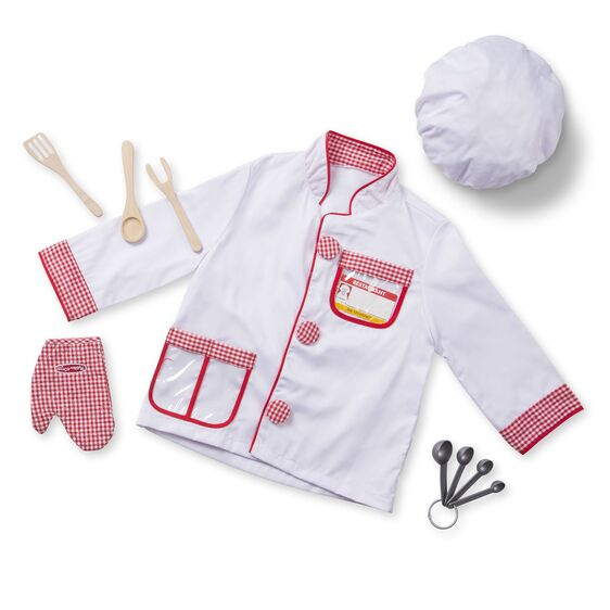 Melissa & Doug - Chef Role Play Costume Set 3-6 Years