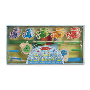 Melissa & Doug Catch & Count Magnetic Fishing Game 3Y+