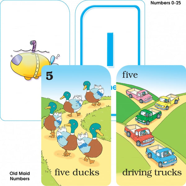 Preschool Flash Cards 4 Pack - BambiniJO