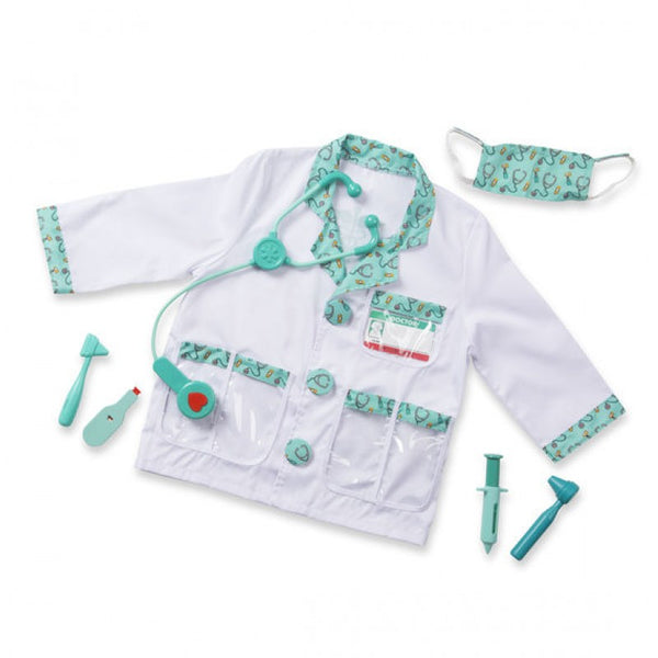 Melissa & Doug - Doctor Role Play Costume Set 3-6 Years
