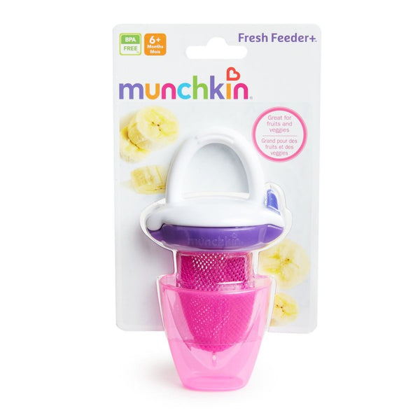 "Munchkin Deluxe Fresh Food Feeder ""3 Colors"" - BambiniJO"