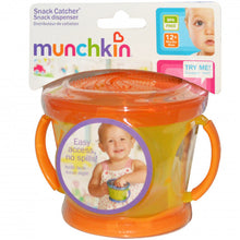 Load image into Gallery viewer, Munchkin Snack Catcher, Orange and Yellow - BambiniJO