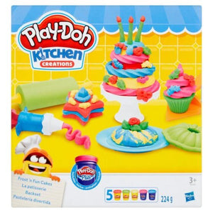 Play-Doh Kitchen Creations Frost 'n Fun Cakes - BambiniJO