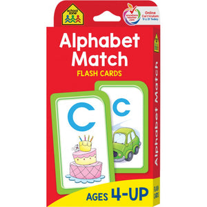 Alphabet Match - Flash Cards - BambiniJO