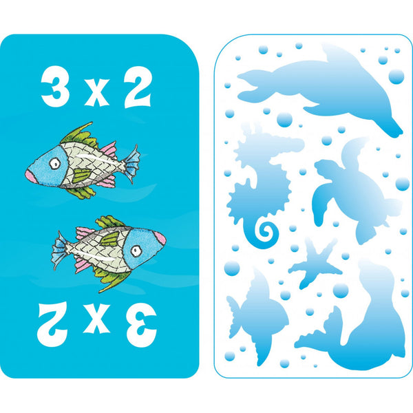 Math War-Multiplication - Game Cards - BambiniJO