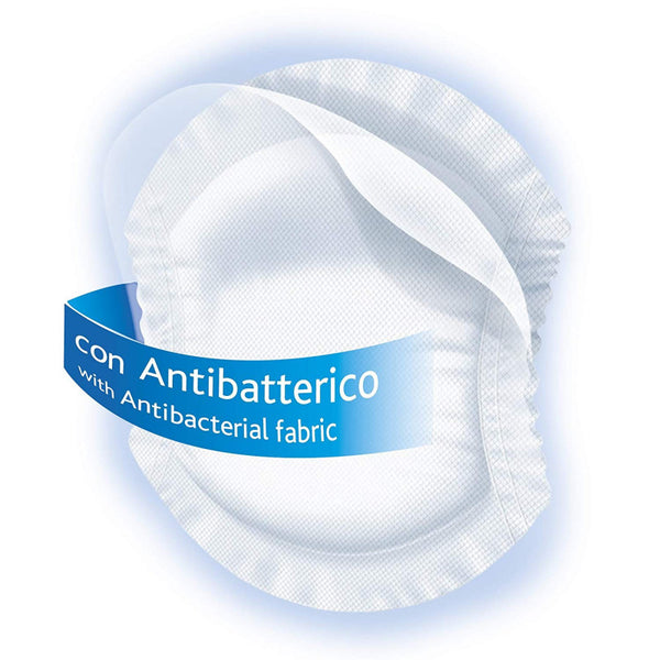 Chicco Antibacterial Breast Pads 30 Pcs - BambiniJO