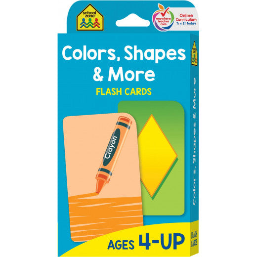 Colors, Shapes and More Flash Cards - BambiniJO