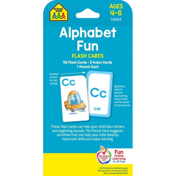 Alphabet Fun - Flash Cards - BambiniJO