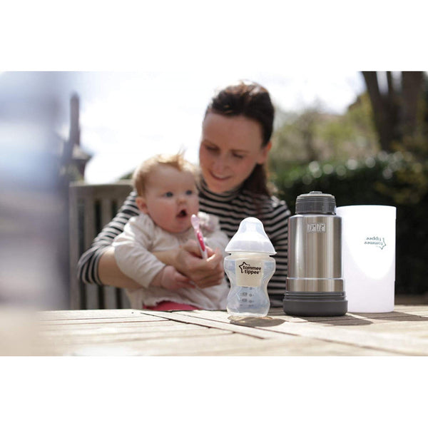 Tommee Tippee Closer to Nature Portable Travel Baby Bottle Warmer - BambiniJO