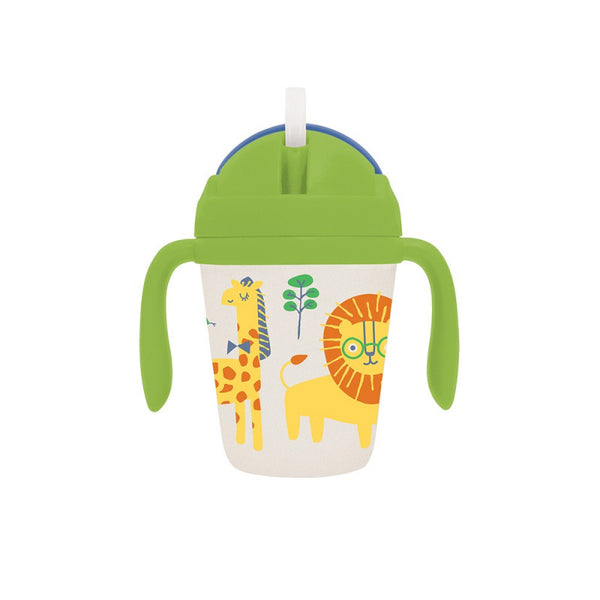 Bamboo Sippy Cup - Wild Thing - BambiniJO