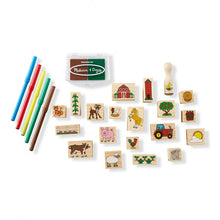 Load image into Gallery viewer, Melissa & Doug Stamp-A-Scene Farm - BambiniJO