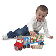 Load image into Gallery viewer, Melissa & Doug Alphabet Truck - BambiniJO