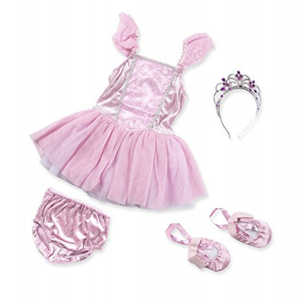 Melissa & Doug - BALLERINA Role Play Costume Set 3-6 Years