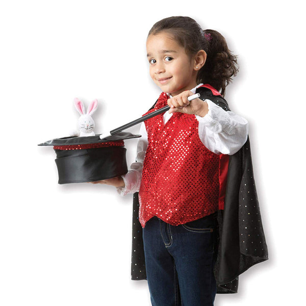 Melissa & Doug - MAGICIAN Role Play Costume Set 3-6 Years