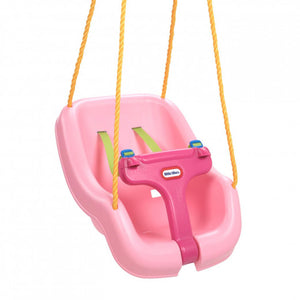 Little Tikes - 2-in-1 Snug 'n Secure Swing - Pink - BambiniJO