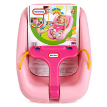 Load image into Gallery viewer, Little Tikes - 2-in-1 Snug 'n Secure Swing - Pink - BambiniJO