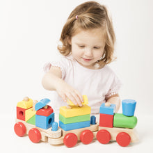 Load image into Gallery viewer, Melissa & Doug Stacking Train - BambiniJO