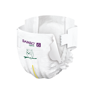 BAMBO Diapers Size 6 (16Kg+), 20 Count - BambiniJO