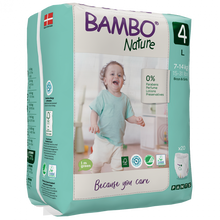 Load image into Gallery viewer, BAMBO Baby Pants Size 4 (7-14 Kg) 20 Count - BambiniJO