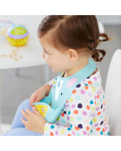 Load image into Gallery viewer, Zoo Fold & Go Silicone Bib - Unicorn - BambiniJO