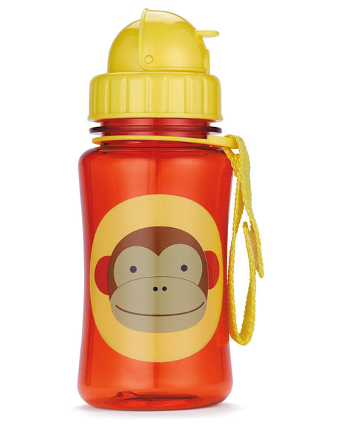 Zoo Straw Bottle Marshall - Monkey - BambiniJO