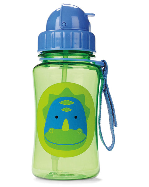 Zoo Straw Bottle Dakota - Dinosaur - BambiniJO