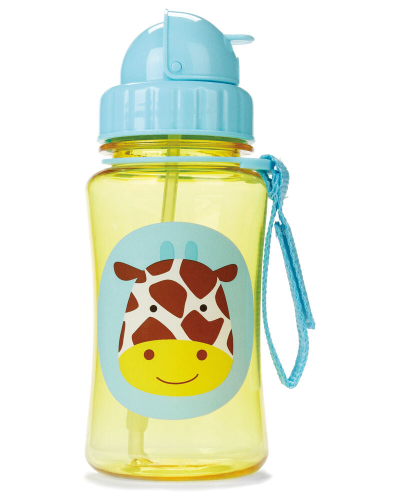 Zoo Straw Bottle Jules - Giraffe - BambiniJO