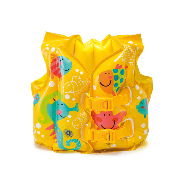 Intex -Tropical Buddies Swim Vest, Ages 3-5