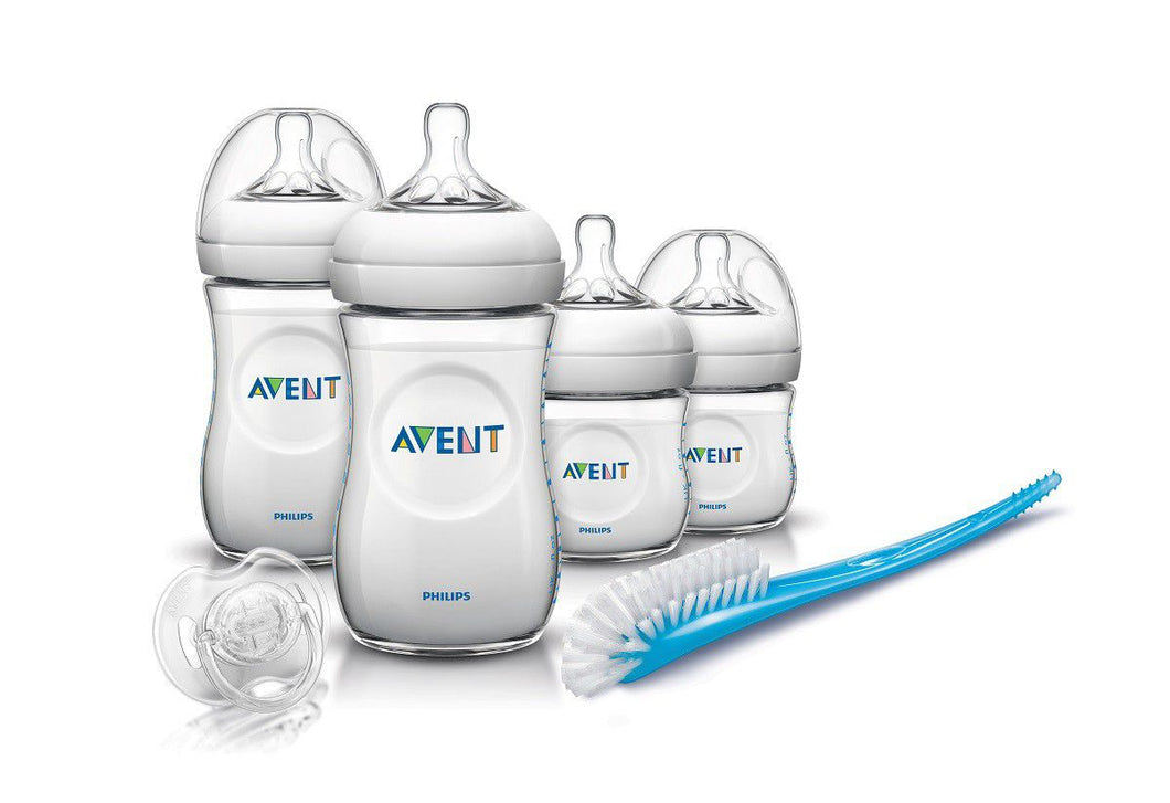 Philips Avent Natural Baby Bottle Newborn Starter Gift Set - BambiniJO