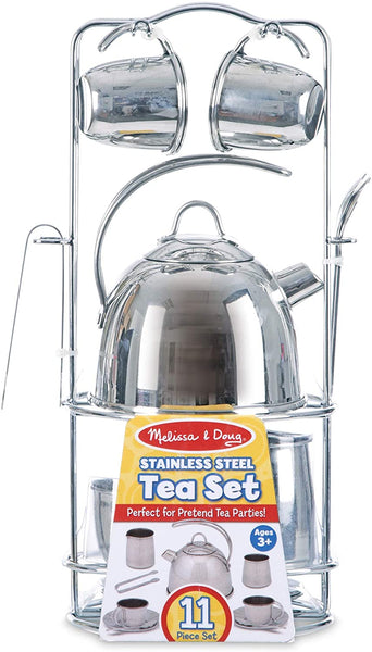 Melissa & Doug -  METAL TEA SET