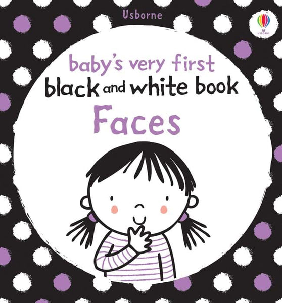 Baby's very first black and white books Faces - BambiniJO