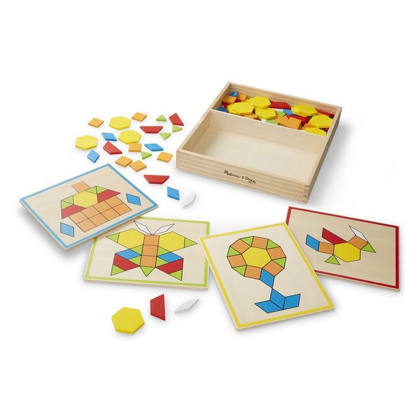 Melissa & Doug Pattern Blocks and Boards 3+