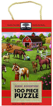 Load image into Gallery viewer, iKids - 100-Piece Puzzle: Horse Adventure Puzzle - BambiniJO