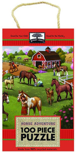 iKids - 100-Piece Puzzle: Horse Adventure Puzzle - BambiniJO