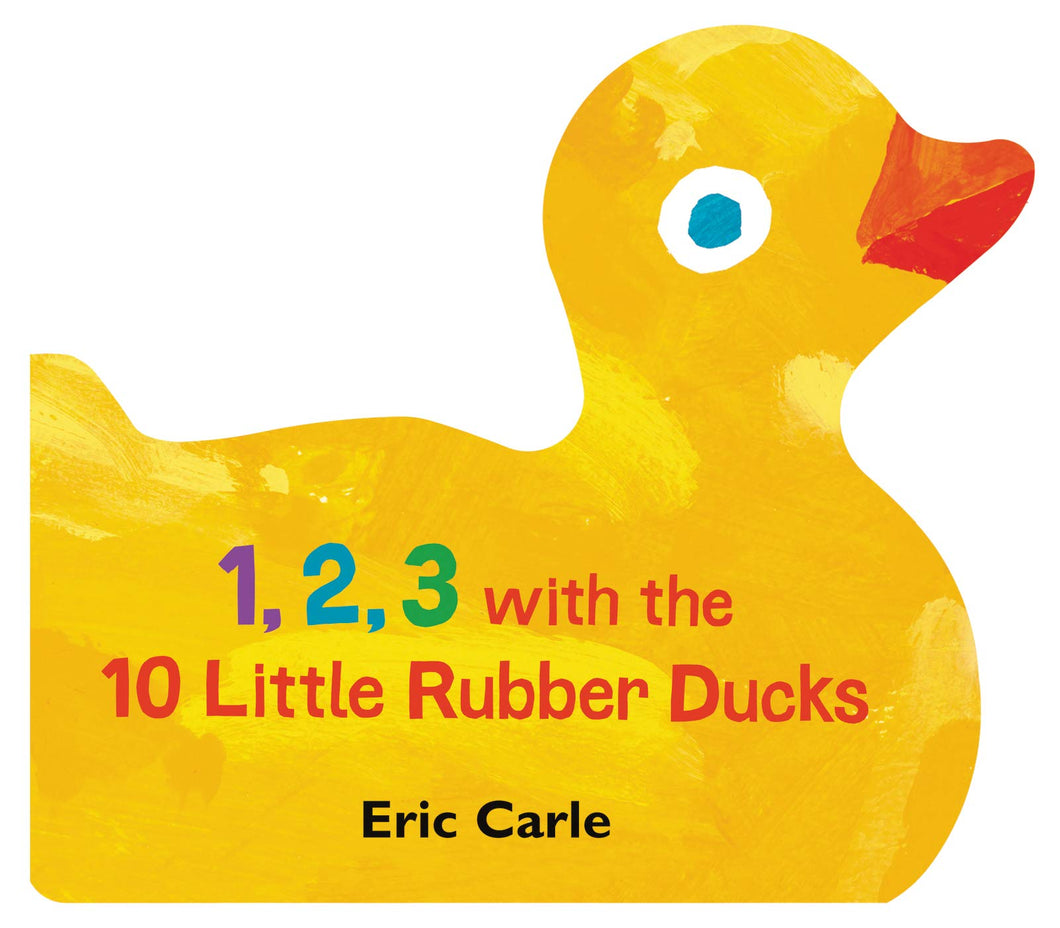 1, 2, 3 with the 10 Little Rubber Ducks: A Spring Counting Book - BambiniJO