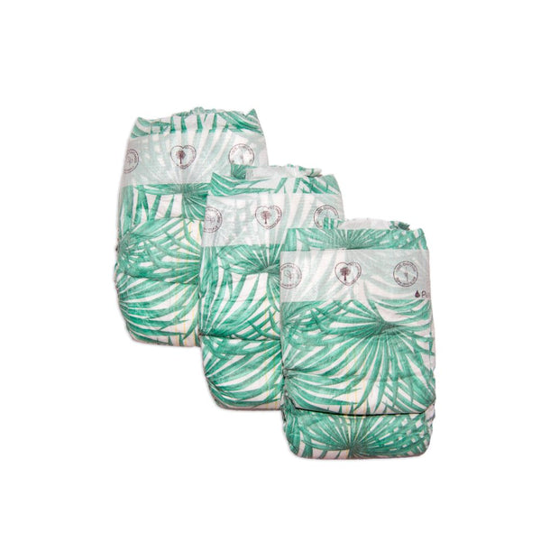 Organic Diapers (Size 4) 7-12kg (24 Diapers)