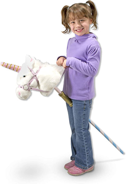 Melissa & Doug - PRANCE-N-PLAY STICK UNICORN