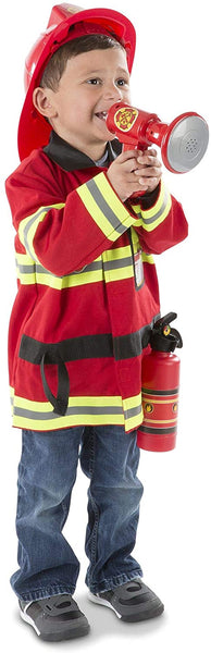Melissa & Doug - FIRE CHIEF Role Play Costume Set 3-6 Years