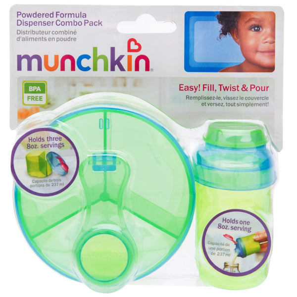 Munchkin Formula Dispenser Combo Pack (Blue/Green) - BambiniJO
