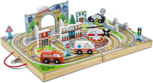 Melissa & Doug TAKE-ALONG TOWN