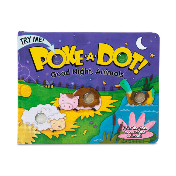 Melissa & Doug Poke-A-Dot! GOODNIGHT ANIMALS