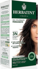 "Load image into Gallery viewer, Pregnancy Safe AMONIA FREE ""Hair Color"" - 3N Dark Chestnut 150ml - BambiniJO"