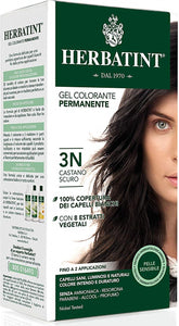 "Pregnancy Safe AMONIA FREE ""Hair Color"" - 3N Dark Chestnut 150ml - BambiniJO"