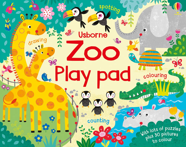 Zoo Play Pad - Puzzles, Drawing & Counting